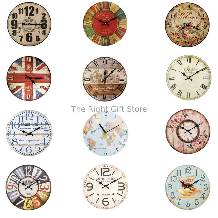 Home design . Have you purchased a new home ?  Look at these beautiful retro wall clocks