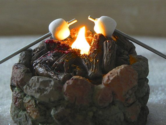 Fairy Garden Fire Pit accessories firepit by TheLittleHedgerow