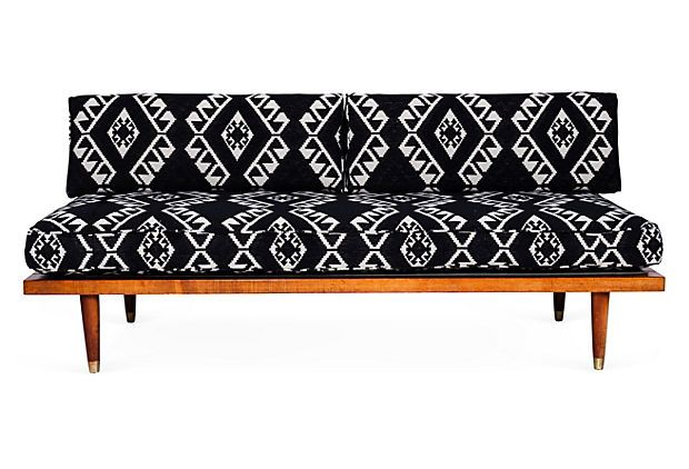 Tribal Print Midcentury Daybed on OneKingsLane.com