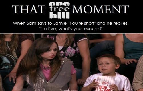 James Lucas Scott. Jackson Brundage. One Tree Hill. OTH. Jamie. Sam. That One Tree Hill Moment.