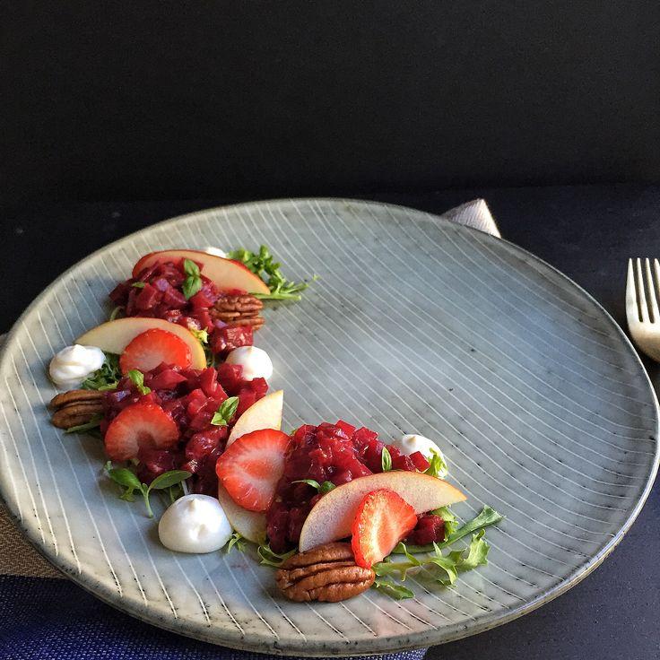 strawberry amp roasted strawberry strawberry balsamic strawberry ...
