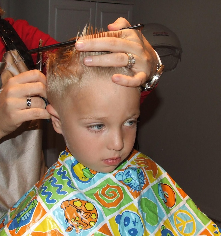 Simply Everthing I Love How To Cut Boys Hair The