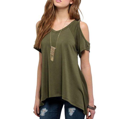 Loose Short Sleeve T-Shirt