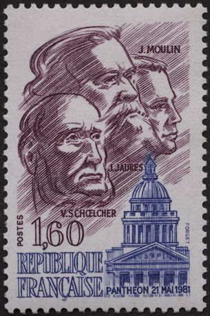 Timbre Panthéon, 21 mai 1981