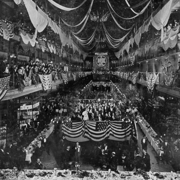 Historic Interior Photo of The Arcade Courtesy of Cleveland Public Library | The Arcade One of NVD's favorite places to visit!