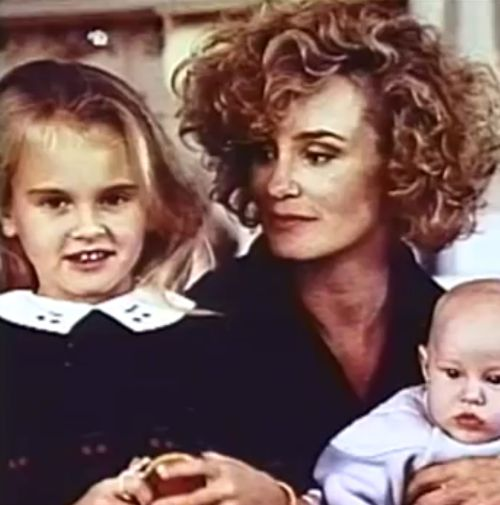 """ ""The natural state of motherhood is unselfishness. When you become a mother, you are no longer the center of your own universe. You relinquish that position to your children."" -Jessica Lange """