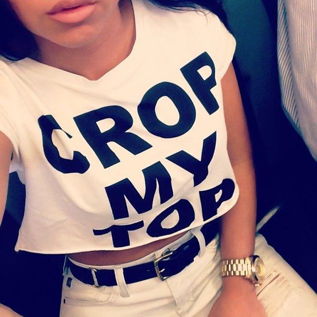 Crop My Top
