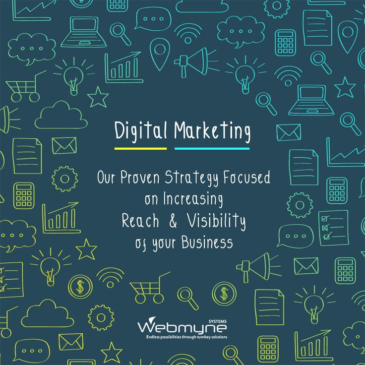 With the advent of Digital India the growth of Digital Marketing is at peak.Promote your business and transform it to a brand with #DigitalMarketing services @Webmyne