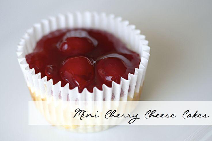 Mini Cherry Cheese Cake