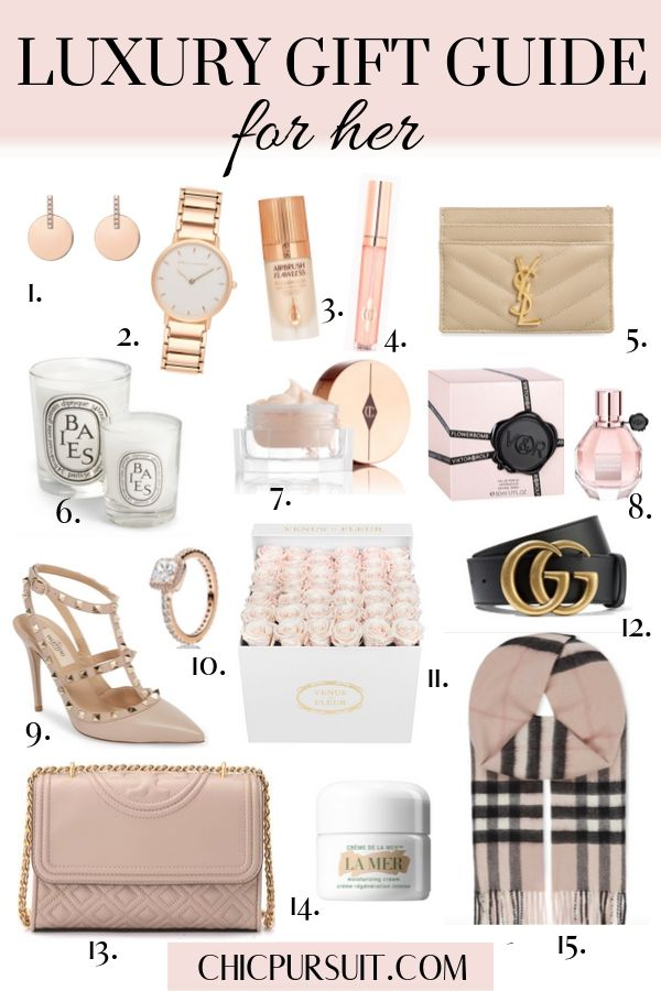 30 Best Luxury Gifts For Her That She Ll Actually Want In 2020 Luxury Christmas Gifts Luxury Gifts For Women Gifts For Women