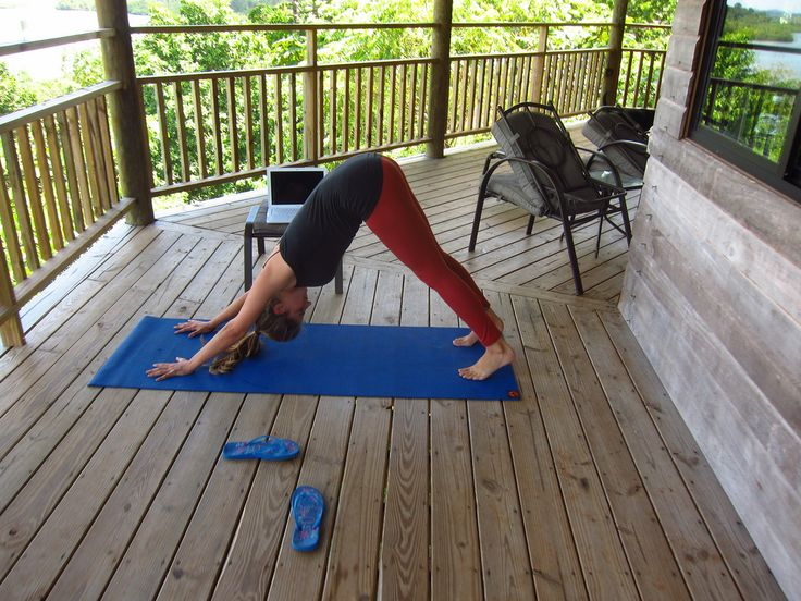 Nice Travel Blog Post: The Best Travel Yoga Mat is Not a Mat - Yoga Paws Review http://tillthemoneyrunsout.com/best-travel-yoga-mat-not-mat-yoga-paws-review/