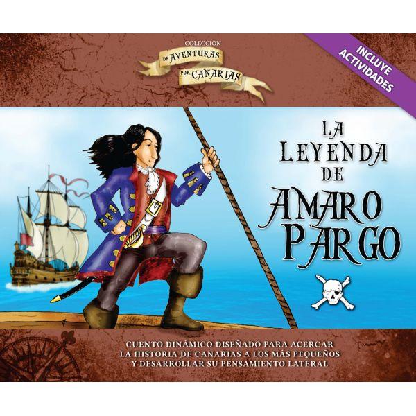 La leyenda de Amaro Pargo / Pompeyo Reina. cuento dinámico diseñado para acercar la historia de Canarias a los más pequeños y desarrollar su pensamiento lateral. http://absysnetweb.bbtk.ull.es/cgi-bin/abnetopac01?TITN=513326