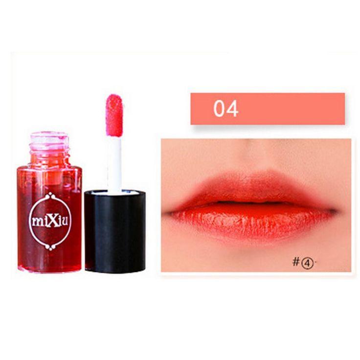 Mixiu Multifunktions Lippentönung Färben Flüssigkeit Lipgloss & Rouge Wasserdicht Lipgloss Make-Up Schönheit Lippen JL46