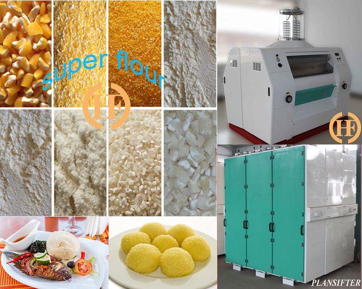 wheat flour milling machine and corn maize mill machine of Hongdefa Machinery. 1. Highspeedvibratingsieve: 2. Gravityclassifydestoner: 3. MoistureDamper: 4. Degerminator: 5. Rotatingsieve: