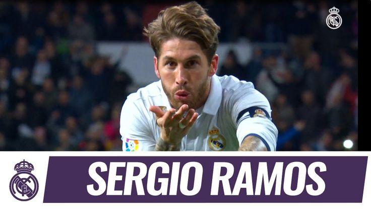 Sergio Ramos Enjoy EVERY Sergio Ramos goal for Real Madrid in La Liga 2016/17