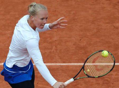 全仏オープン、オランダ人選手キキバーテンが今日準決勝