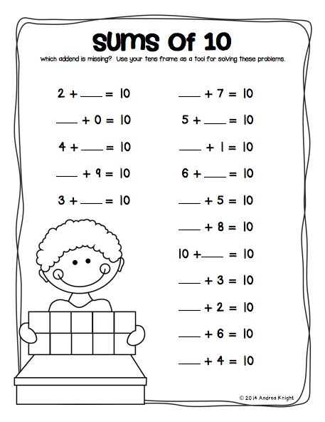 17+ images about Teaching - Math: Making Tens on Pinterest | Math ...