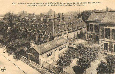 L'hôpital Saint Louis