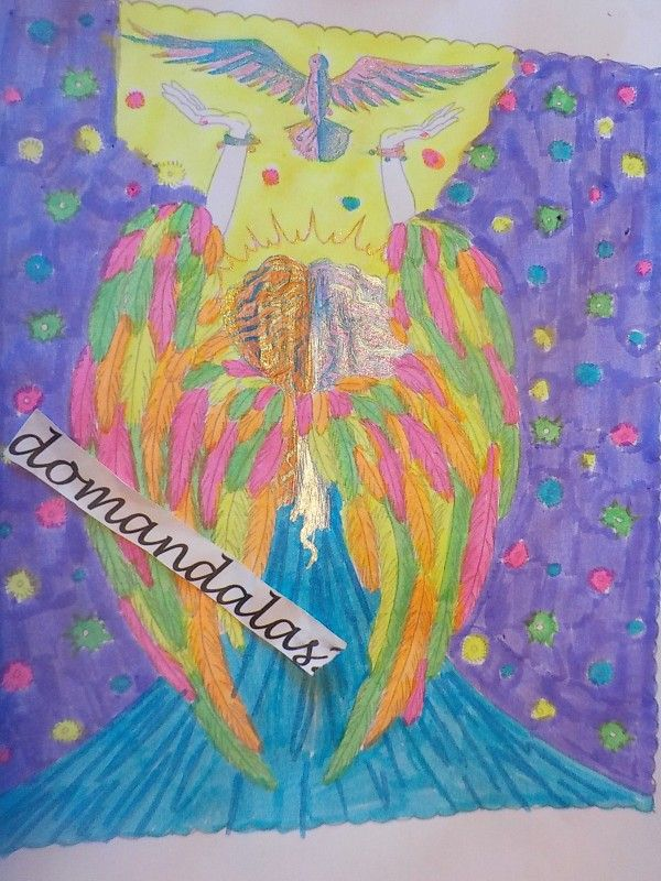 Creation by domandalas3, coloring page from the gallery Zen and Anti stress