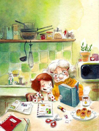 Illustration personnelle par Line Parmentier