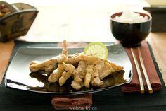 Pollo al limón y sésamo | webos fritos