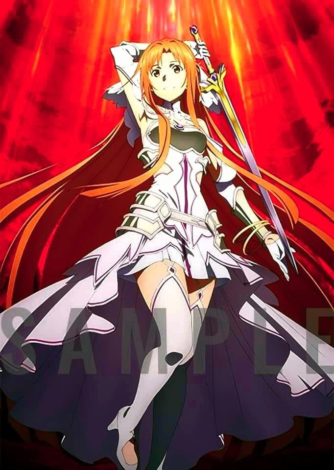 Stacia Asuna Sao Wou Wallpaper In 2020 Sword Art Online Asuna Sword Art Sword Art Online Season