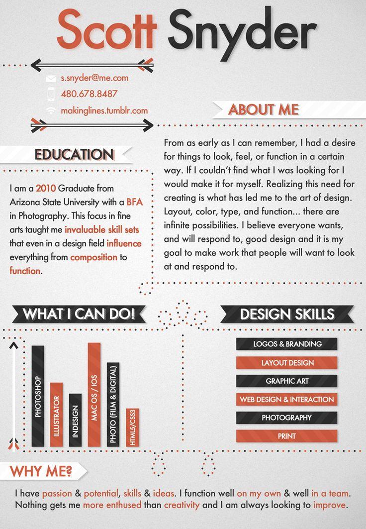 Resume Layout Tips 88 Best Design Images On Pinterest  Cv Template Resume Design And .