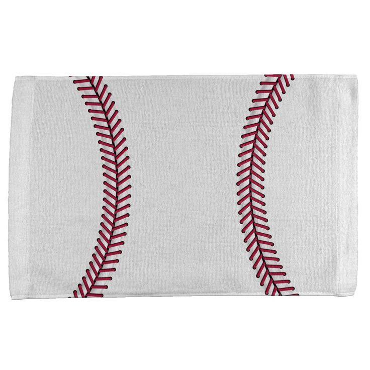 Baseball All Over Sport Towel