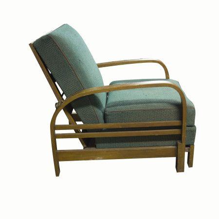 Adjustable armchair ART DECO, 1930´s