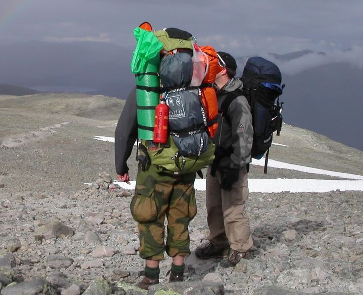 Utrustningslista för vandring