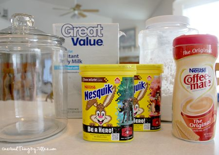 Our Family's FAVORITE Semi-Homemade Hot Chocolate Mix! | One Good Thing by Jillee