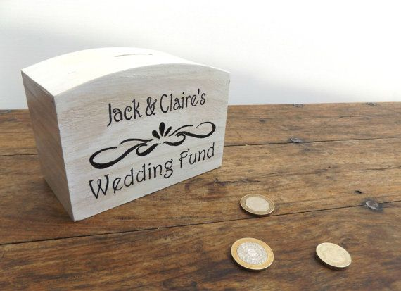 Hey, I found this really awesome Etsy listing at https://www.etsy.com/listing/247474990/personalised-wooden-wedding-money-box