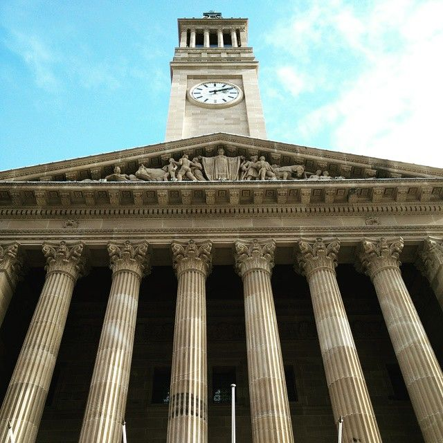 A perspective of the Brisbane city town hall which dates back to mid 18th century. #GrabYourDream #Brisbane #citytownhall #historicplaces #history #traveller #adventure