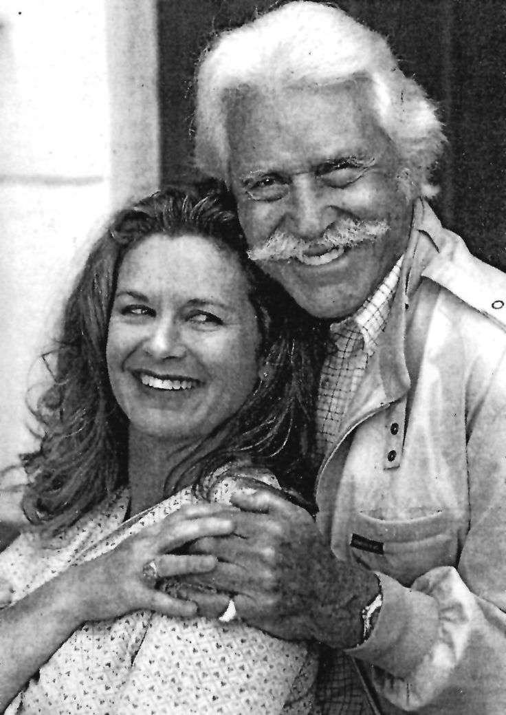 Stephanie Zimbalist with her father, Efrem Zimbalist, Jr. | The Official Stephanie Zimbalist Website