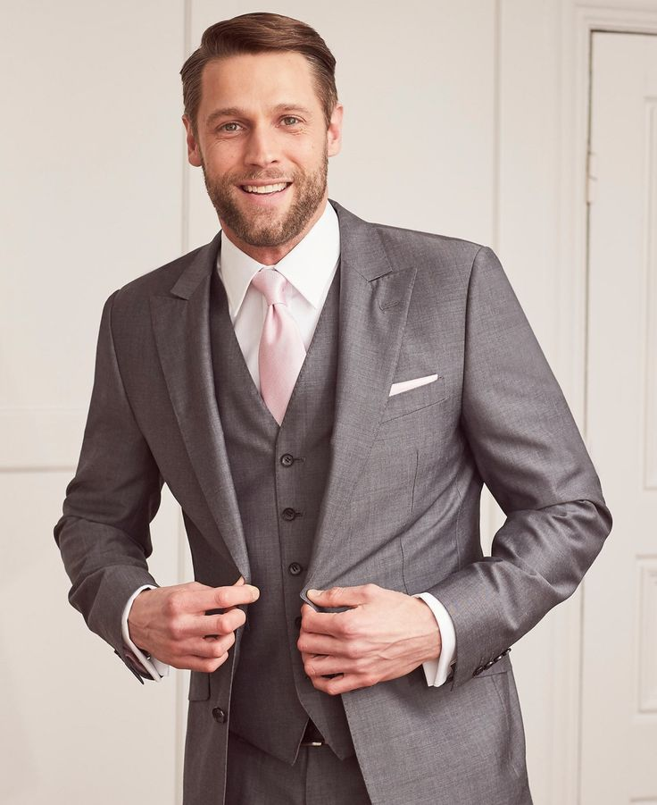 The 25  best Grey suit wedding ideas on Pinterest | Grey suits ...