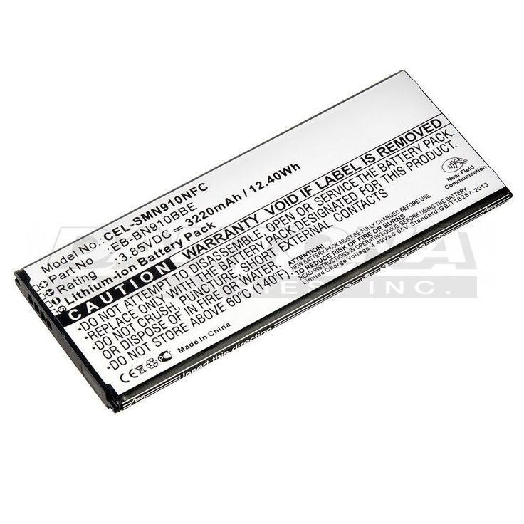 ULTRALAST REPLACEMENT BATTERY FOR SAMSUNG GALAXY NOTE 4 WITH NFC #Ultralast