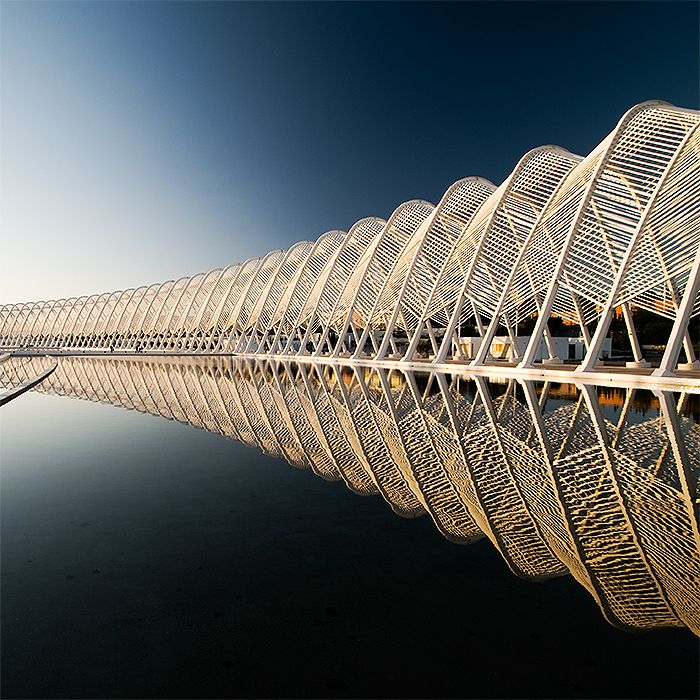 Olympic complex in Athens by George Margelis #photo #architecture #design