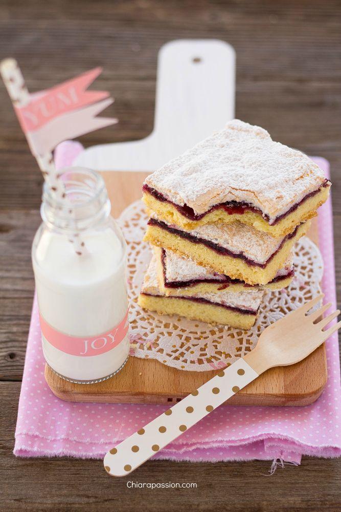 Torta Slava (frolla, marmellata e meringa) | Chiarapassion