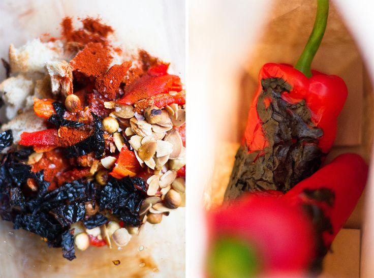 Wandercrush Romesco Roasted Pumpkin Leek & Kamut