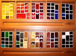Resultado de imagem para schmincke aquarellfarben farbkarte