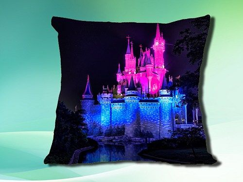 """The custom pillow case brings 100% fun into your bedroom. It measures 18"""" x 18"""", which can easily fit in any standard size pillow.  This pillow case can be full bleed printed with your own photos, ide"""