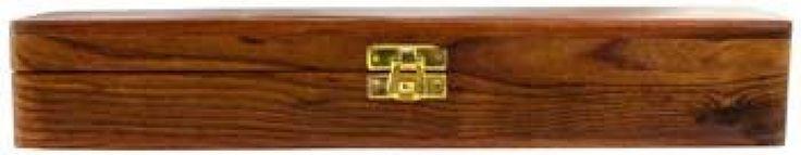"""Wood box 12"""" x 2"""". WANDS?"""