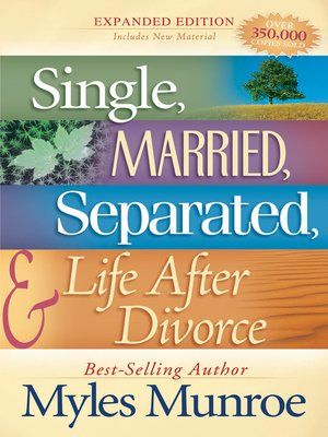Cover image for Single, Married, Separated and Life after Divorce