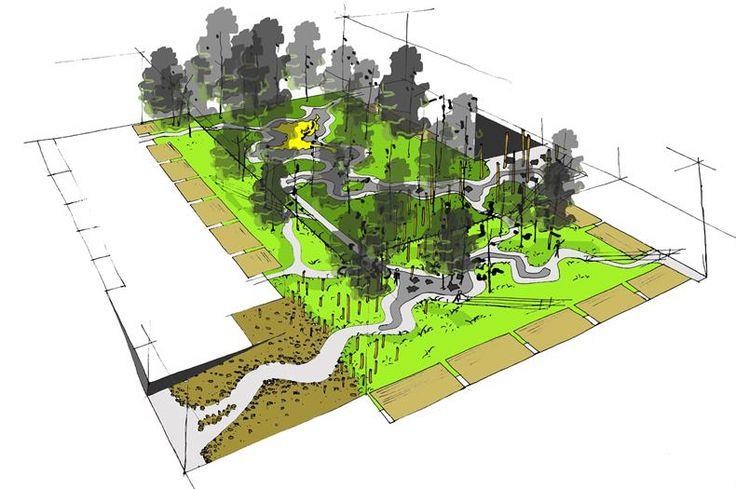 Buro sant en co landscape architecture roof gardens for Buro architectes