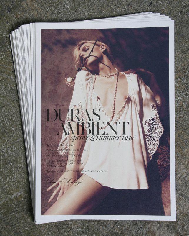 DURAS ambient-Newspaper
