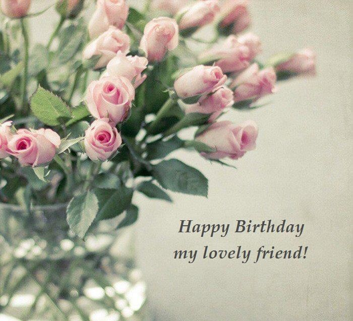 Beautiful Flowers, Happy Birthday