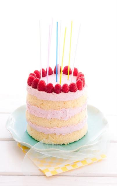 Lemon & Raspberry-Lime Layer Cake via Desserts for Breakfast #lemon #recipe