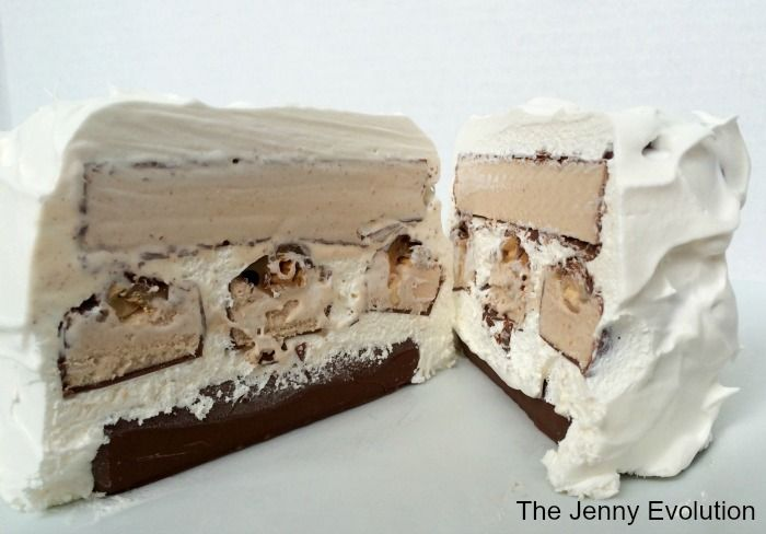 Snickers® Cake! Snickers Ice Cream Bars Cake Recipe   $100 Walmart Gift Card Giveaway