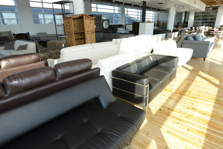 Leather Made Living Room Furniture- GH Johnson