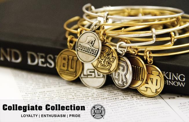 Show off your school pride with Alex and Ani's Collegiate Collection!